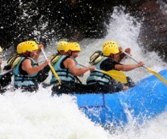 Descenso en rafting de 12 km