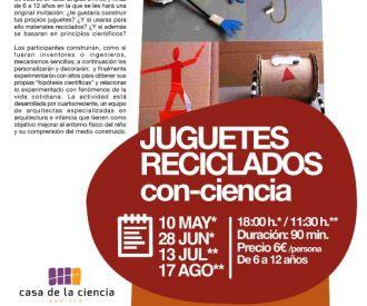 Juguetes Reciclados con Ciencia