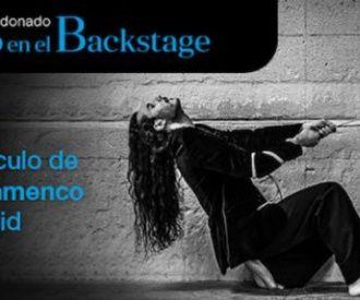 Flamenco en el backstage